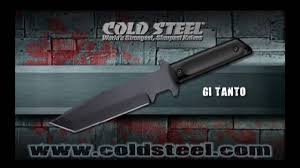 gi tanto cold steel fixed blade knife youtube