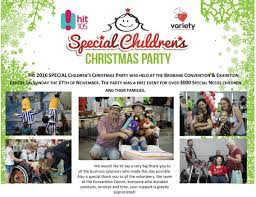 hit105 special children u0027s christmas party u2013 donation from ray