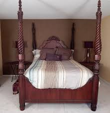Four Post Bed by Thomasville Queen Four Poster Bed Ebth