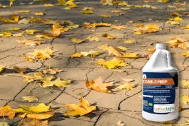 How To Clean Stone Patio by Resources How To Remove Leaf Stains From Concrete And Pavers