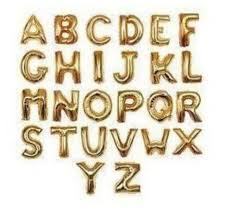 balloon decorations mylar number letter size 40 inches foil balloons capital alphabet letter balloons