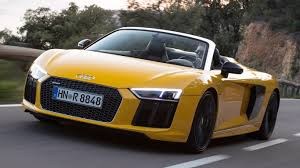 Audi R8 Yellow 2016 - 2016 audi r8 spyder review open air v10 thunder motoring research