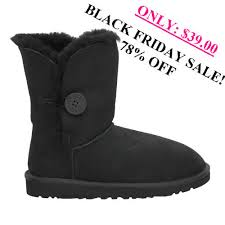 ugg boots sale black friday ugg bailey button 5803 boots black black friday discount sale 78