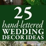 Wedding Decor Checklist Use This Wedding Décor Checklist To Help You Nail Every Detail