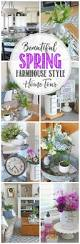 spring home tour spring kitchen and family room clean and