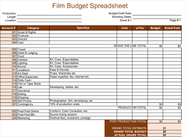 Spreadsheet Template For Budget Budget Template For Excel 5 Spreadsheets