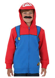 mario costumes for halloween boys super mario costume hoodie