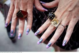 street seen new york fashion week u0027s wildest nail art beautylish
