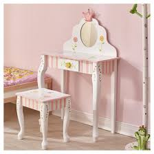Vanity Table And Stool Set Fantasy Fields Princess U0026 Frog Vanity Table And Stool Set
