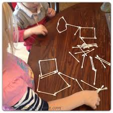 Halloween Skeleton Craft by A Simple Post On A Qtip Skeleton How Wee Learn