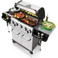 Backyard Grill 5 Burner Gas Grill by Broil King Regal S590 Pro 5 Burner Freestanding Natural Gas Grill