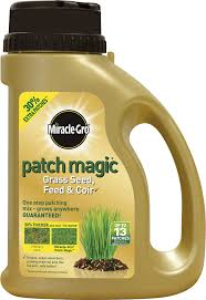 Miracle Grow Patio by Miracle Gro Patch Magic Grass Seed Feed And Coir 1015g Shaker