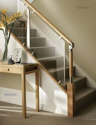 chrome banister rails handrail system for staircases fusion stairparts stairs