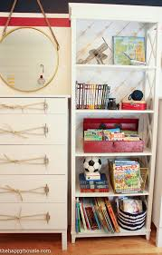 Nautical Bookcase Ikea Tarva Dresser Hack Nautical Style Dresser With Dock Cleat