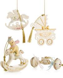 lenox exclusive 2014 annual baby s rocking ornament