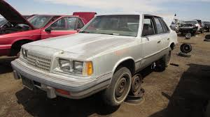 junkyard find 1987 plymouth caravelle the truth about cars