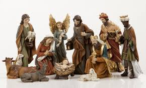 Lighted Outdoor Christmas Nativity Scene fanciful heavens majesty nativity figure set supplies nativity