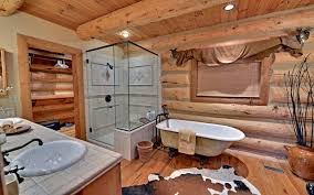 log home bathroom ideas lake blue ridge custom log home traditional bathroom atlanta