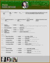 Sample Resume For Marriage by Marriage Biodata Template Virtren Com