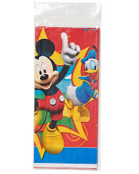 mickey mouse clubhouse party mickey mouse clubhouse plastic table cover 54 in x 96