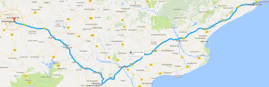 Map My Driving Route by My First Road Trip Vizag Hyderabad U0026 Laknavaram Hyderabad