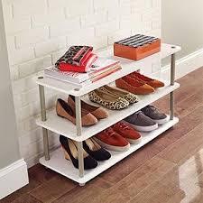 shoe organizer amazon com closetmaid 5013 3 tier shoe organizer white home