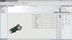 Bom Template Excel Solidworks Saving Bom Template