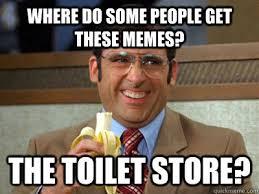 How To Find Memes - toilet store meme anchorman funny pinterest meme