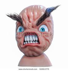 Angry Face Meme - internet meme rage anger face 3d stock illustration 610813775