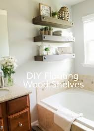 Decorate Bathroom Shelves Apartments Rustic Floating Shelves Beautiful Shelf At Narrow