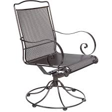 Swivel Outdoor Chair Avalon Wrought Iron O W Lee