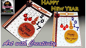 happy new year photo card how to make happy new year card easy for children