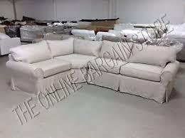 Sectional Sofa Slipcovers by Pottery Barn Pb Basic Sectional Sofa Slipcover Flax Basketweave