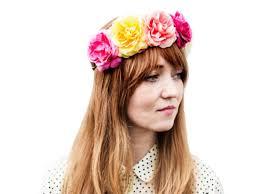 hippie hair accessories hair accessory flowers flower crown multi color hair