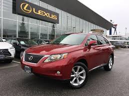 lexus red rx 350 for sale used 2010 lexus rx 350 6a for sale northshore auto mall