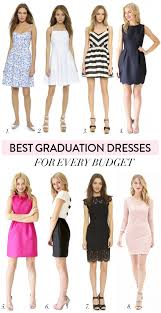 graduation white dresses best graduation dresses on every budget charmingly styled