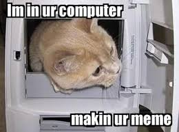 Internet Meme Cat - im in ur computer cat meme cat planet cat planet