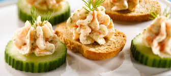 mini canape smoked salmon mousse canapes recipe dairy goodness