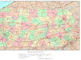 Lancaster Pennsylvania Map by Pennsylvania Map Online Maps Of Pennsylvania State