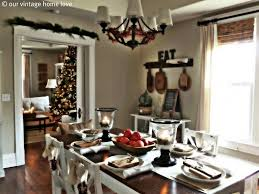 dining christmas decorations kitchen table ideas simple and