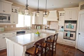 white cabinets with brown granite countertops luxurious home design