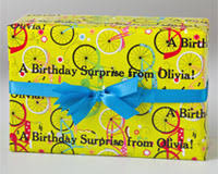 customized wrapping paper wrap all your gifts with our unique personalized gift wrapping paper
