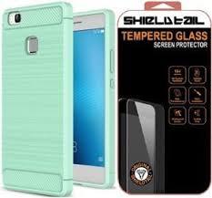 shtl carbon tpu armor for huawei p9 lite mint green