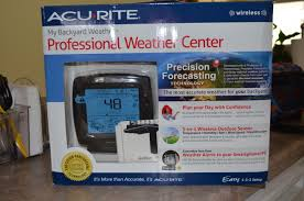 Backyard Weather Acurite U0027s Professional Weather Center Wireless Weather Data At A