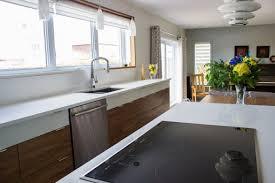 cuisine blanc et noyer cuisine moderne noyer maison moderne