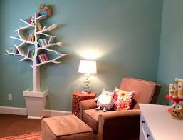 Nursery Bookshelf Ideas Tree Bookcases And Shelves Eco Style Coming With Space Saving Ideas
