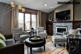 awesome split level living room interior design for home