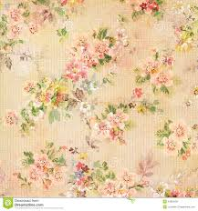 Chic Flower Shabby Chic Vintage Antique Rose Floral Wallpaper Royalty Free