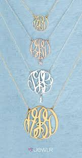 Single Initial Monogram Necklace Couples Initial Necklace Beautiful Weddings Pinterest