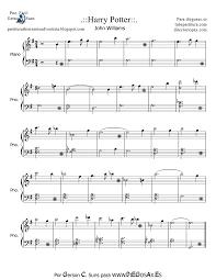 tubescore harry potter by john williams easy sheet music for